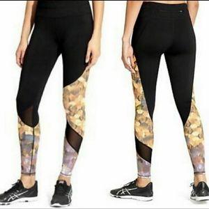 Athleta Sonar Mesh Inlay Yoga Highrise Leggings S